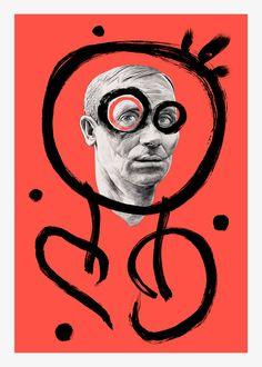 Joan Miró by Chamo San