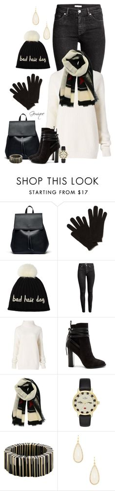 """""""Bad Hair Day"""" by gemique ❤ liked on Polyvore featuring Sole Society, John Lewis, H&M, Diane Von Furstenberg, Steve Madden, Givenchy, Kate Spade and One Button"""