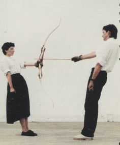 Marina Abramovic is a legendary performance artist, born in Belgrade in 1946. She began performing in Yugoslavia in the early 1970s, and has continued to astound audiences around the world. She met fellow performance artist Ulay (Uwe Laysiepen) in 1976, and the two collaborated artistically as well as romantically.