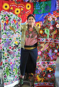 Maya Embroidery Chiapas Mexico | by Ilhuicamina