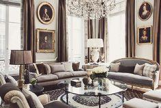 {décor inspiration | interior designer : jean-louis denoit, paris} by {this is glamorous}, via Flickr