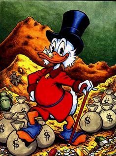 Scrooge Mc Duck..