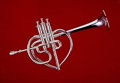 """Trumpet Featured in """"Sgt. Pepper's Lonely Hearts Club Band"""" Movie, at the National Music Museum Trumpet Music, Music Museum, Tunnel Of Love, Trumpet Players, Sgt Pepper, Lonely Heart, Movie Props, Tatoo, Ukulele Songs"""