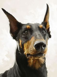 paintings of dachshunds - Google Search