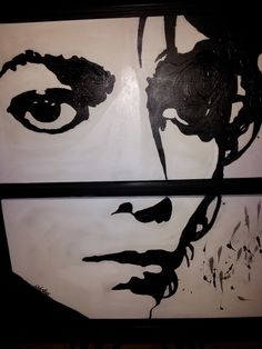 Michael Jackson The King of Pop. Acrylic on canvas. 30 x Pop Art Portraits, Michael Jackson, King, Canvas, Color, Style, Tela, Swag, Canvases