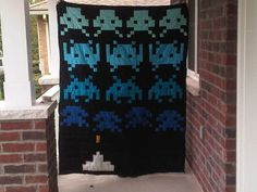 you can almost hear the 8 bit sound... - QUILTING