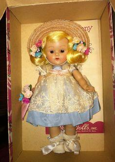 VINTAGE VOGUE STRUNG MINTY DOLL KAREN 1953 #63 #Dolls