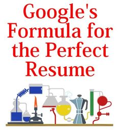 Google's Formula for the Best Resume #productivity Productivity Tip #productive