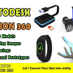 I will convert your idea into 3d cad with fusion 360, #idea, #convert, #cad Freelance Programming, Service Design, 3d