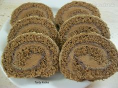 Cake Roll Recipes, Dessert Recipes, Czech Desserts, Czech Recipes, Noel Christmas, Nutella, Sweet Tooth, Sweet Treats, Deserts