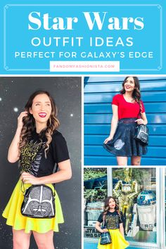 Star Wars Outfit Ideas for Galaxy's Edge Cute Disney Outfits, Disney World Outfits, Star Wars Outfits, Themed Outfits, Disney Inspired Fashion, Disney Fashion, Star Wars Dress, Cute Stars, Star Wars Gifts