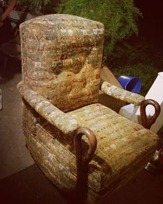 #Antique #Vintage #Gooseneck / #SwanNeck #Rocker ♲ #ForSale $145 ♲ #BucksCounty #furniture Wingback Chair, Armchair, Vintage Rocking Chair, Bucks County, Accent Chairs, Platform, Antiques, Instagram Posts, Furniture