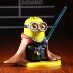 STAR WARS Minions Figurines Are Exactly The Bananas You're Looking For -  #minions #starwars #toys