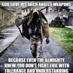 I don't think it's wrong to protect yourself and others. I don't ever want to kill, but I feel that God gave us common sense, and if someone is trying to hurt or kill me, or my family, you better believe I'm going to protect and defend them!
