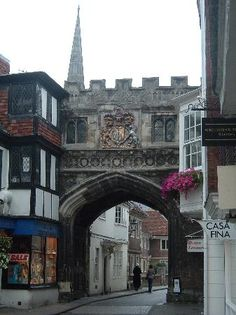 Salisbury, UK- a quaint city with lovely people and gorgeous buildings- first place i thought i could live forever when i moved to the uk