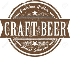 Craft Beer Label Royalty Free Cliparts, Vectors, And Stock ...