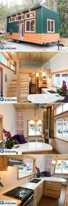 This is the one!!!!!!!!!!!!!! The Skookum is a 24' modern cabin style tiny house built by Westcoast Outbuildings in North Vancouver, British Columbia.