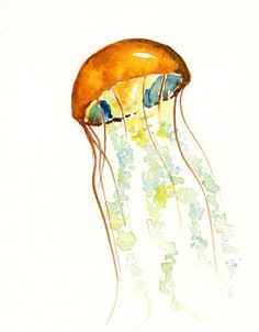❤Watercolor Inspiration: Sea Creatures | PicFish