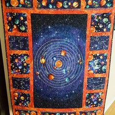Space Quilts X2 Masterpieces For My Little Misters