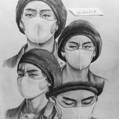 Taehyung + his eyebrows + beret = 😍😍 So, this is my publication🎉Thanks for your support! This really make me happy and motivates me😊I'll try to improve my skills and show you more my art💜💜 P. First Love Bts, Chinese Drawings, Moleskine Sketchbook, Kpop Drawings, Korean Art, Kpop Fanart, Bts Wallpaper, K Idols, Art Inspo