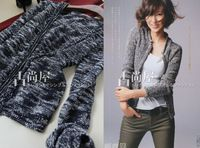 2013new arrival free shipping Clip fancy hasp cardigan sweater