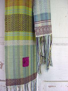 sugar maple scarf  by Avalanche Looms, via Flickr