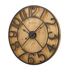 Bulova SILHOUETTE Large Wall Clock, C4814 Bulova http://www.amazon.com/dp/B010TSSNL0/ref=cm_sw_r_pi_dp_Y0vowb1NAX39X