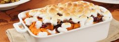 Joy Bauer's Sweet Potato Carrot Casserole - check ingreds before making & hit the store!
