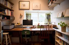 study shelves