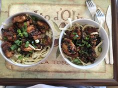 """Keto """"Noodles"""" — pan fried pork, spring onions, sprinkle of brown sugar, soy sauce, and pan fried white cabbage as a noodle replacement. : ketorecipes"""