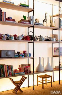 Cinco maneiras criativas de expor peças de coleção - Casa
