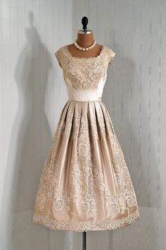 1950's Harvey Berin Dress