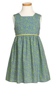 Margherita Print Back Wrap Dress (Toddler Girls, Little Girls & Big Girls) available at #Nordstrom