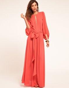 Amazing Maxi Long Sleeve Dress