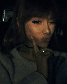 Pin for Later: Ariana Grande Adds Brow-Grazing Bangs to Her Signature Style