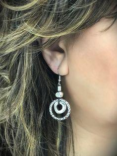 Vintage Double Hoop Earrings – Belvie Jewelry