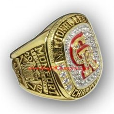 2007 Colorado Rockies National League Baseball Championship Ring, Custom Colorado Rockies Champions Ring