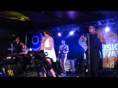 "Leah Labelle LIVE ""Sexify"" & Pharrell/Jay Z's ""Frontin'"" at Essence Music Festival 2012"