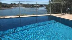 Never has there been a better example of maximising a view with the use of glass pool fencing. Safe and stunning - the perfect combination! #bettabalustrades #balustrades #landscaping #homeinspiration #centralcoastnsw #newcastle #sydney Glass Pool Fencing, Pool Fence, Glass Balustrade, Central Coast, Newcastle, Betta, Sydney, Landscaping, Outdoor Decor