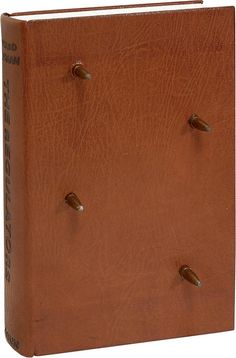 Leather-bound edition of the Regulators by Stephen King features four Winchester bullets emerging from the front cover and the shell cases entering the rear of the book. AbeBooks has sold one of these bullet-ridden copies for $8,000.