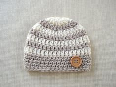 Hey, I found this really awesome Etsy listing at https://www.etsy.com/listing/223347025/striped-baby-boy-hat-crochet-newborn-hat