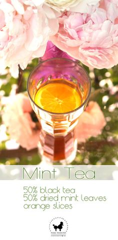 RECIPE: Mint Tea