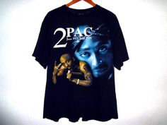Really nice vintage 2PAC tee in great shape! Memorial tee from his death in 1996. Marked size is XL but please check the measurements.  chest 26