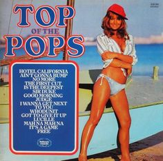 Top of the Pops records: In England the Top of the Pops LPs had huge sales. They had nothing to do with the television show, which featured the original artists but the modestly paid session men on Pickwick's LPs achieved sales so huge that the records were banned from the charts lest they embarrass the creators of original artists. Pickwick's good run ended when big labels realised they could lease the original hits to labels such as K-Tel which squashed ten to a side.