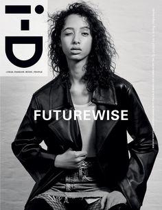 The Futurewise Issue No. 343 Yasmin Winaldum by Collier Schorr  Fashion Director Alastair McKimm. Yasmin wears coat Celine fall/winter 16. Top Calvin Klein fall/winter 16, Skirt vintage Levi's.