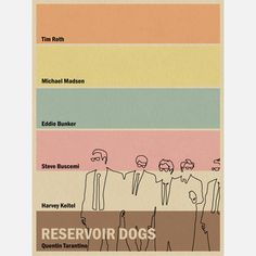 Reservoir Dogs Inspired $45 - Joseph Chiang
