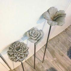 Flores de cemento
