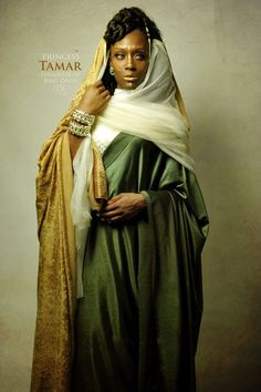 """Tamar ~Noire Icons of the Bible by James C. Lewis, International Photographer ~ """"How might Biblical characters really look? Blacks In The Bible, Afro, Black Royalty, Black Jesus, African Royalty, Black Art Pictures, Amazing Pictures, Biblical Art, Black Women Art"""