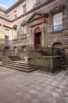 Lyme Hall Court Yard. Lyme Park - Cheshire, ENGLAND.   (by Redstone Hill, via Flickr)