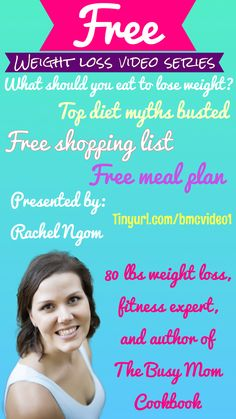 ****limited time FREE weight loss video series from an eighty pound weight loss success story PLUS free shopping list and meal plan. Access it ALL at www.tinyurl.com/bmcvideo1